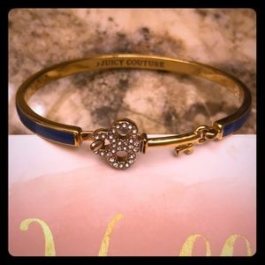 Juicy Couture cuff key bracelet